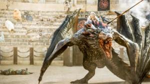 JdT5x09 - Daenerys sobre Drogon