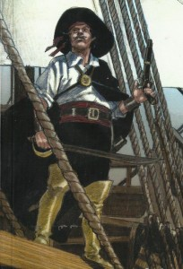 El Pirata Negro recorte