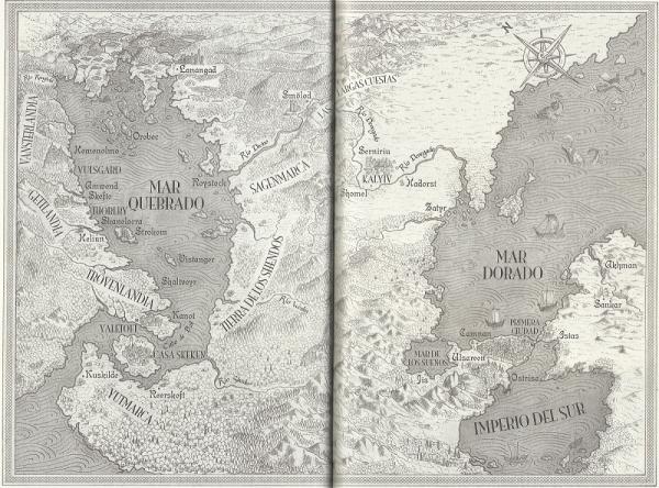 Mapa Mar Quebrado